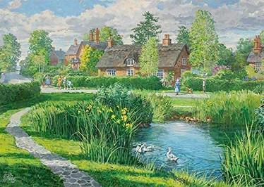 Falcon Riverside Cottages palapeli 2x500 palaa