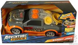 Street Jamz Adventure Force Car valo+äänet