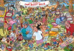 Wasgij Original 35 Car Boot Carpers!