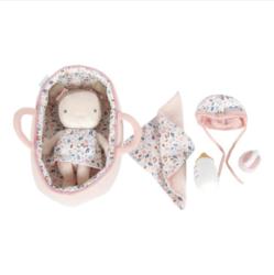 Little Dutch Rosa-nukke ja kantokassi