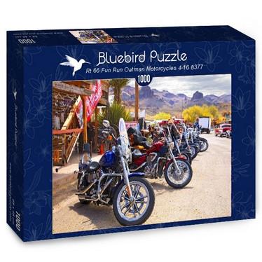 Bluebird Rt 66 Fun Run Motorcycles palapeli