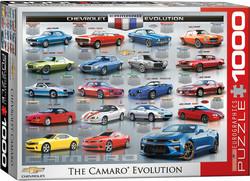 Eurographics Chevrolet the Camaro Evolution palapeli