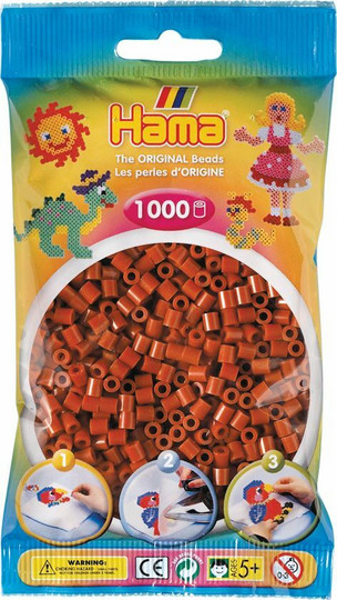 Hama pussi 1000 punaruskea