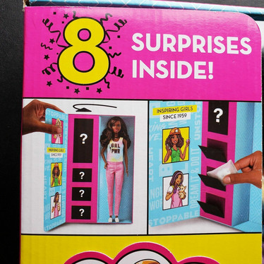 Barbie You Can Be Anything Surprise Brown Hair Dol