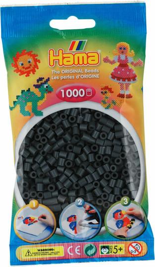 Hama pussi 1000 tumma harmaa