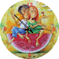 Art Puzzle Palapeli-kello I Love You