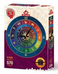 Art Puzzle Palapeli-kello Zodiac
