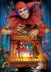 Art Puzzle Masked Puppeteer palapeli