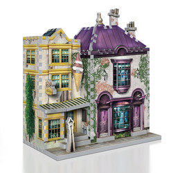 Wrebbit Harry Potter Madam Malkin's & Florean Fortescue 3D-palapeli