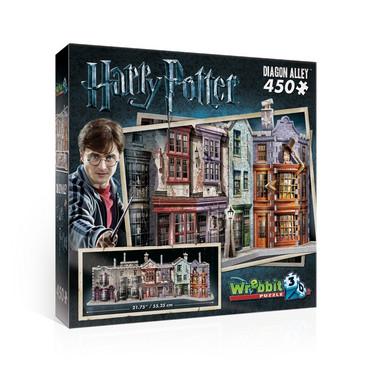 Wrebbit Harry Potter Diagon Alley -palapeli 3D