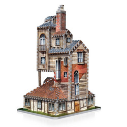 Wrebbit Harry Potter The Burrow, Weasley Family Home -palapeli 3D