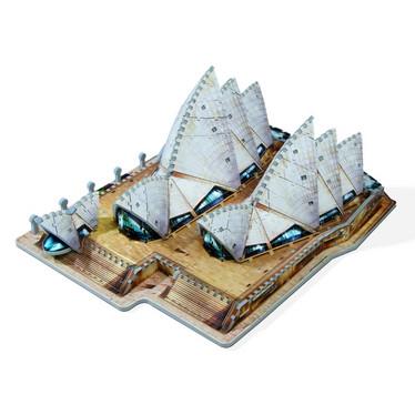 Wrebbit Sydney Opera house 3D palapeli