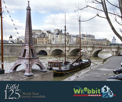 Wrebbit Eiffel Tower 3 D palapeli