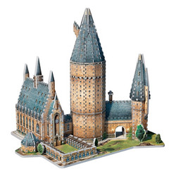 Wrebbit Harry Potter Hogwarts Great Hall -palapeli 3D