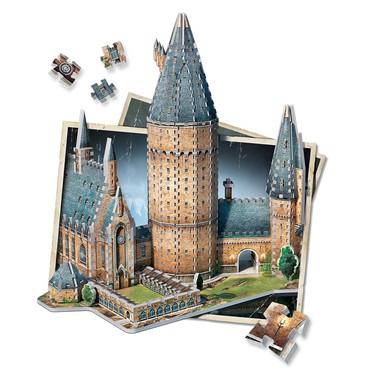 Wrebbit Harry Potter Hogwarts Great Hall -palapeli 3D
