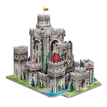 Wrebbit King Arthur's Camelot -palapeli 3D
