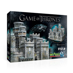 Wrebbit Game of Thrones Winterfell-palapeli 3D