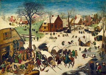 Bluebird Pieter Bruegel-The Census at Bethlehem palapeli