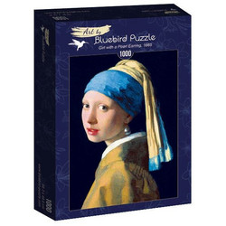 Bluebird Vermeer-Girl with a Pearl Earring palapeli