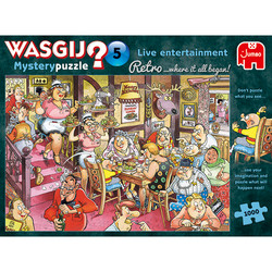 Wasgij Retro Mystery 5 Sunday Lunch palapeli