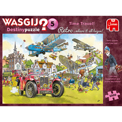 Wasgij Retro Destiny5 Time Travel! palapeli