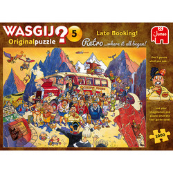 Wasgij Retro Original5 Late Booking palapeli