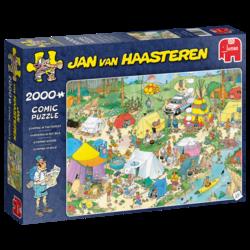 Jan Van Haasteren Telttailua Metsässä palapeli