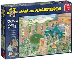 Jan Van Haasteren Katutaidetta palapeli