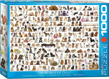 Eurographics The World of Dogs palapeli
