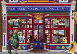 Bluebird Professor Piecepickers Puzzle shop palapeli