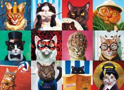 Eurographics Funny Cats palapeli