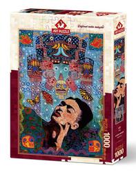 Art Puzzle Alfredo Arreguin Frida palapeli