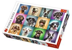 Trefl Funny Dog Portraits palapeli