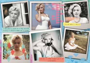 Trefl Collage Marilyn Monroe palapeli