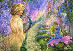 Grafika Josephine Wall - Wisteria Way palapeli