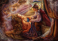 Grafika Josephine Wall - Sleeping Beauty palapeli