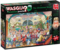 Wasgij 16 The Christmas Show palapeli
