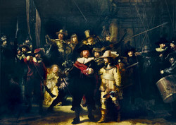 Bluebird Rembrandt-The Night Watch palapeli