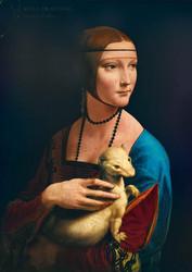 Bluebird Leonardo Da Vinci Lady with an Ermine palapeli
