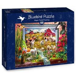 Bluebird Magic Farm Painting palapeli