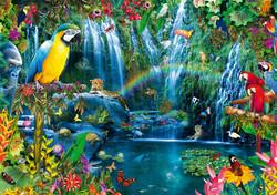 Bluebird Parrots Tropics palapeli