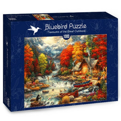 Bluebird Chuck Pinson-Treasures of the Great Outdoors palapeli