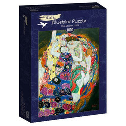Bluebird Gustav Klimt The Maiden palapeli