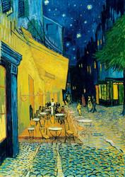 Bluebird Vincent Van Gogh-Cafe´Terrace at Night palapeli