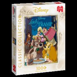 Disney Kaunotar ja Kulkuri palapeli