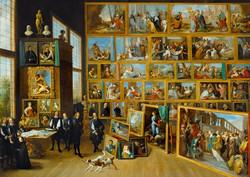 Bluebird Daniel Teniers-Archduke Leopold Wilhelm in Brussels
