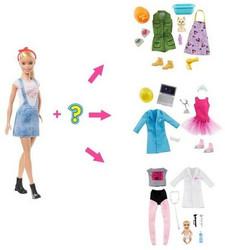 Barbie Surprise Career Muotinukke