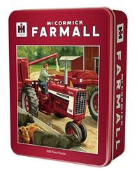 Master Pieces McCormick Farmall palapeli tin box