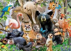 King Jungle Party palapeli