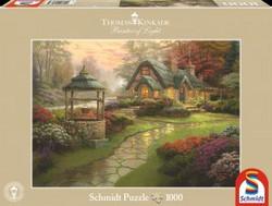 Schmidt Thomas Kinkade Home to the well palapeli
